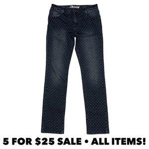 Crazy8 Polka Dot Skinny Polka Dot Jeans